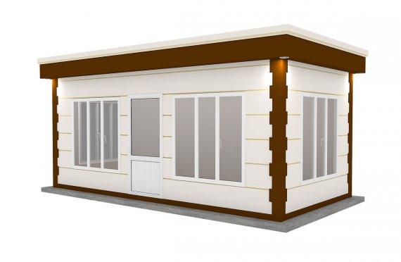Блокконтейнер под офис | модульного типа