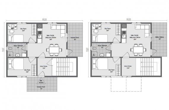 137 м2 Изысканный готовый дом