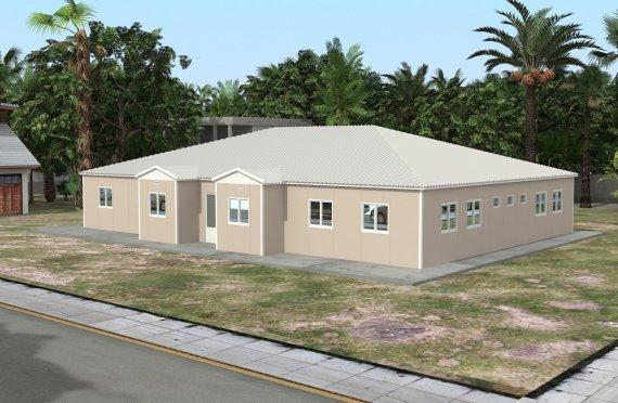 Модульная школа 289 м²