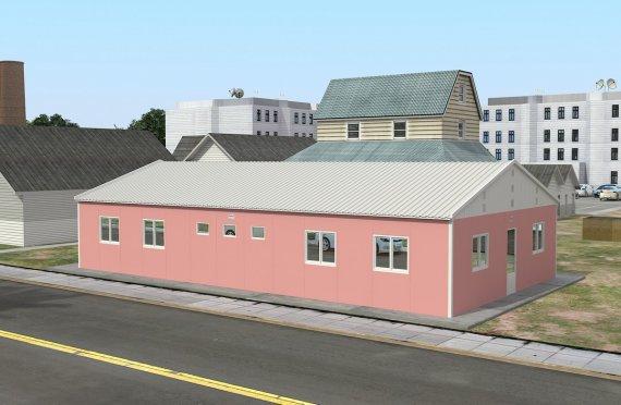148 м² Общежитие быстровозводимое