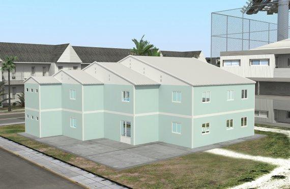 Модульная школа 508 м²