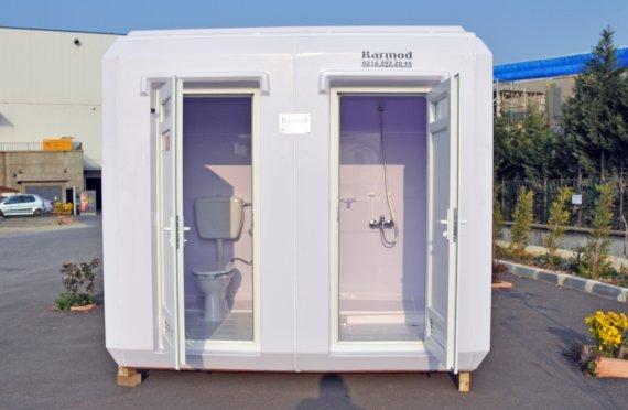 Модульные туалеты и душевые