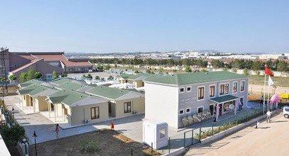 Медицинский реабилитационный центр для онкобольных и модульная гостиница, Турция