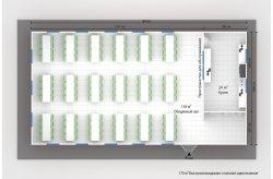 Планировки быстровозводимых столовых